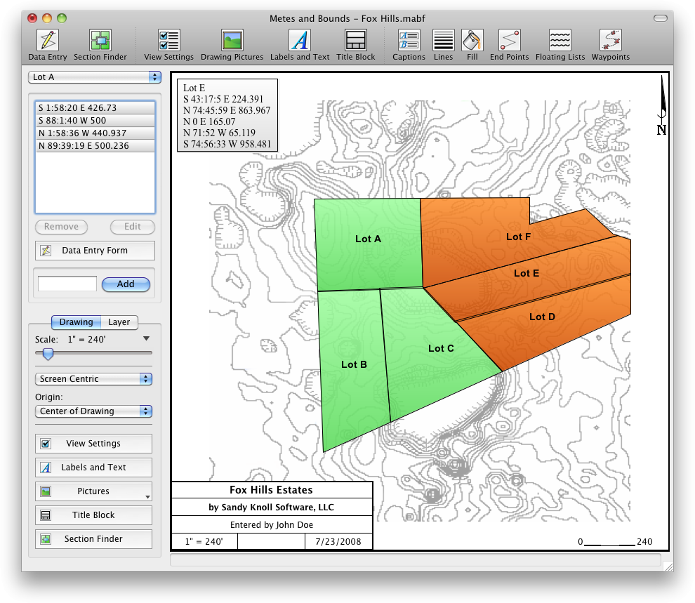 Metes and Bounds > Metes and Bounds Software For Mac and Windows
